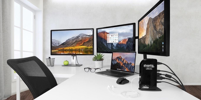DisplayLinkチップを採用したPlugableのUSB Dock