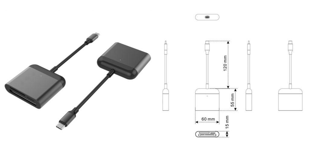 HyperDrive USB-C Pro Card Reader