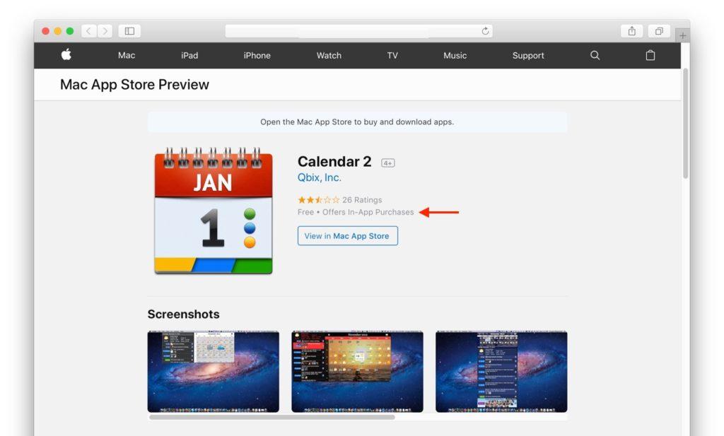 Qbix AppsのCalendar 2