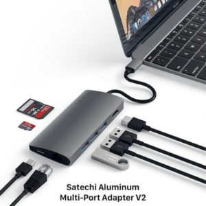 Satechi Aluminum Multi-Port Adapter V2