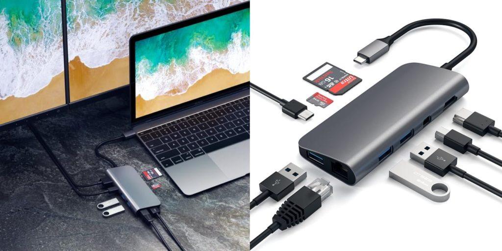 Satechi Aluminum Type-C Multimedia Adapter