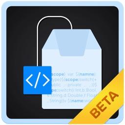 入力パターンによりテンプレート内の変数を自在に変えられるmac用スニペットアプリ Teacode のbeta版が公開中 pl Ch