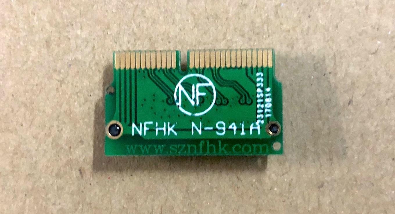 NFHK製のN-941Aアダプター