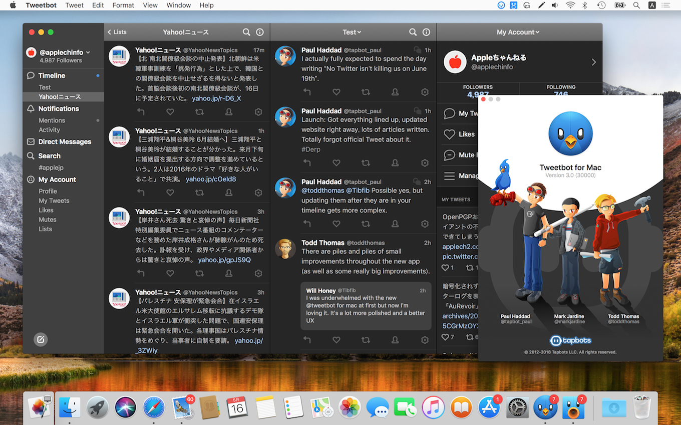 Tweetbot 3 for Twitter for Mac