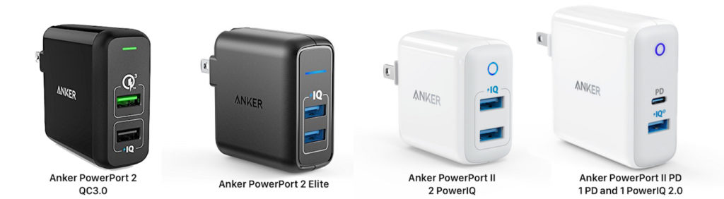 Anker PowerPortシリーズ