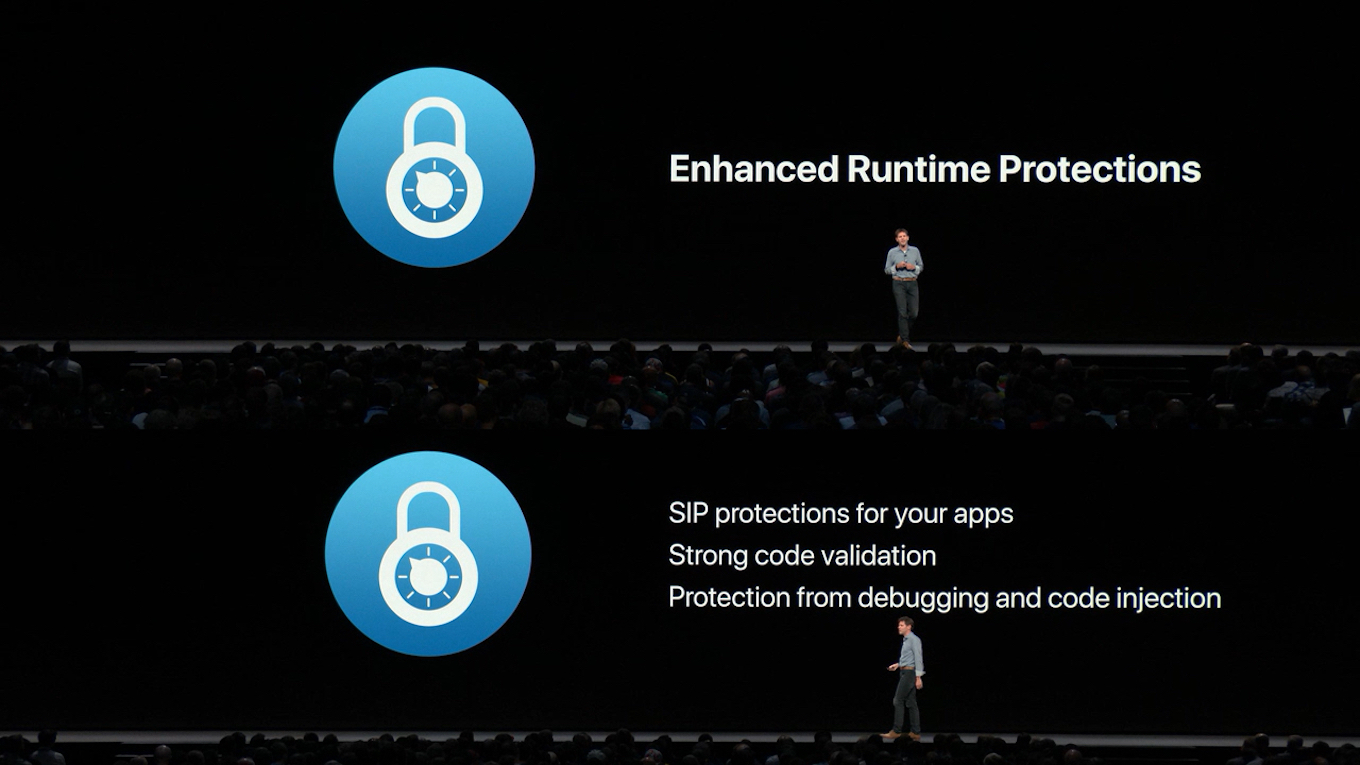 Enhanced Runtime Protection