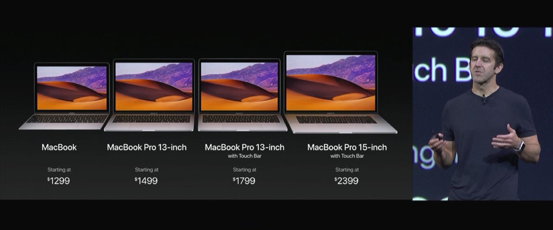 WWDC 2017でのMacBook Proのリフレッシュ