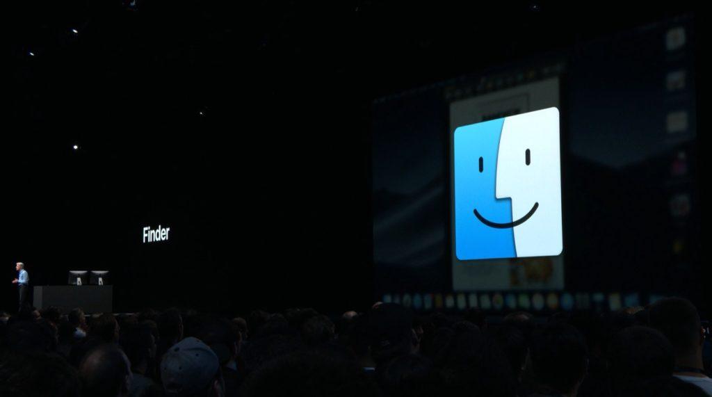 macOS 10.14 MojaveのFinder機能