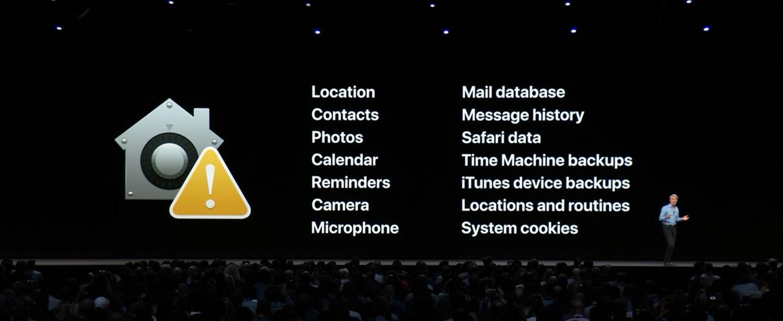 macOS MojaveのPrivacy と Security