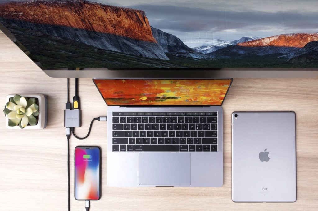 HyperDrive 3-in-1 USB-C Hub