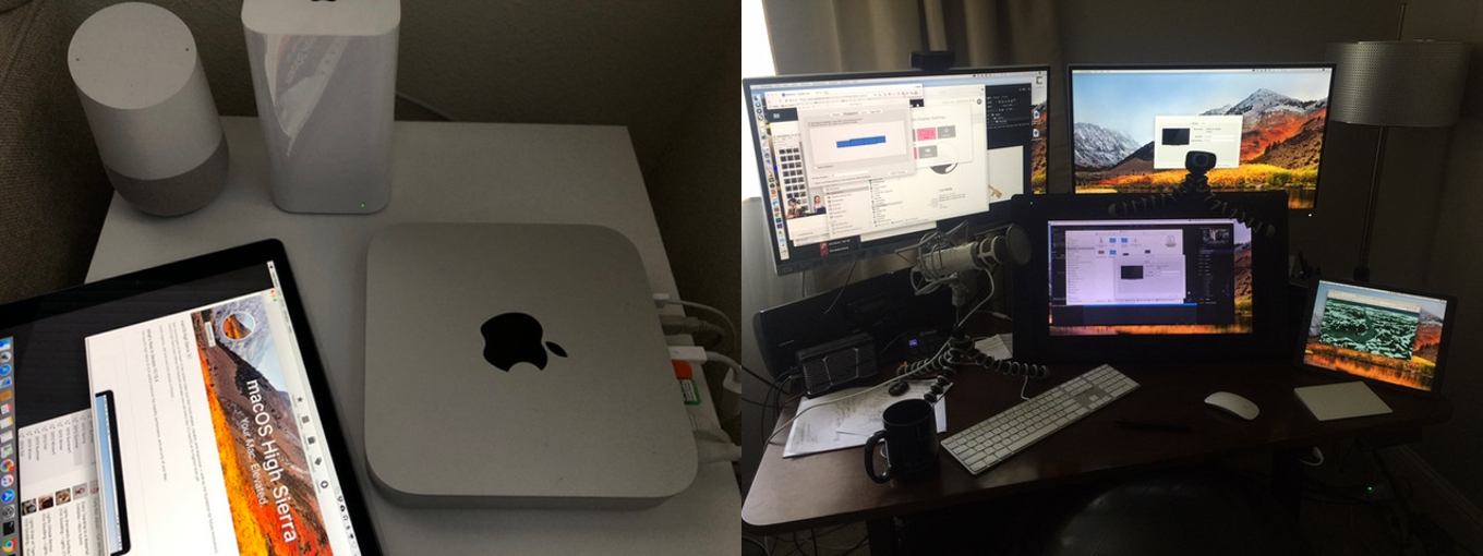 Luna DisplayとMac mini + iPad Pro