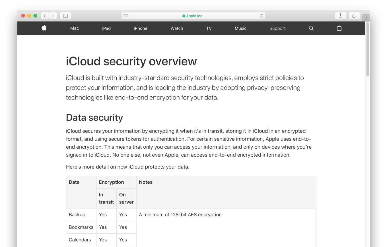 iCloud security overview - Apple Support