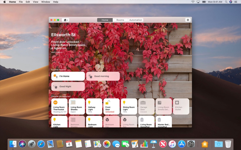 macOS 10.14 MojaveのHomeアプリ