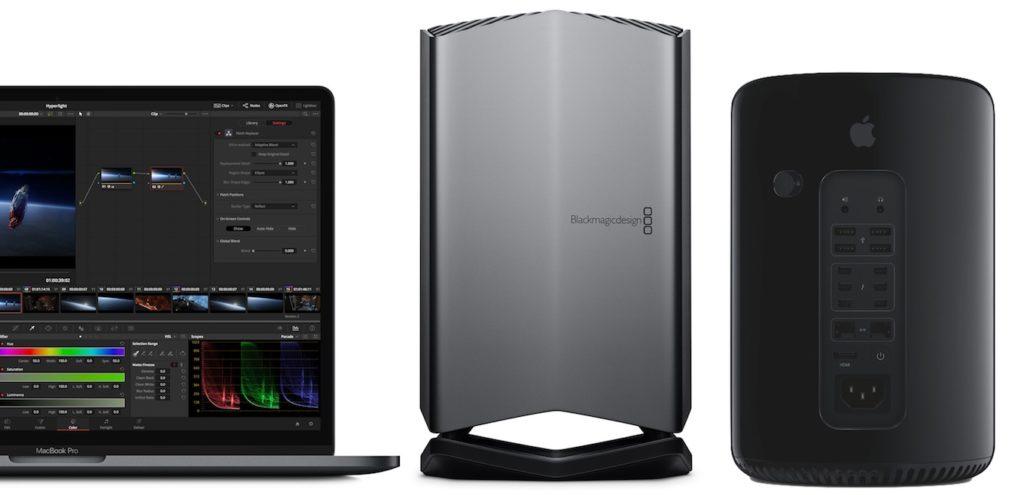 Blackmagic eGPUとMac Pro Late 2013