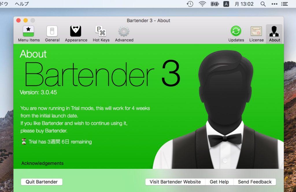 Bartender v3 init support macOS 10.14 Mojave
