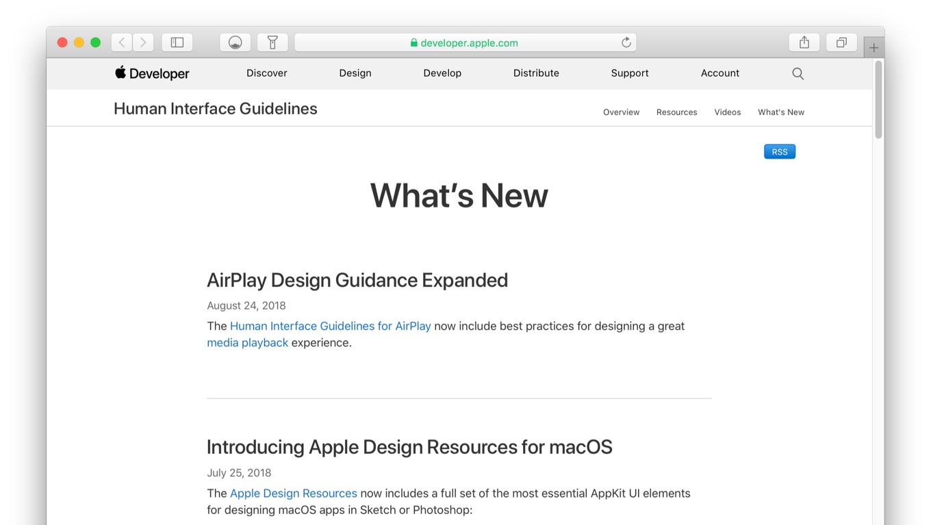 AirPlay Design Guidance