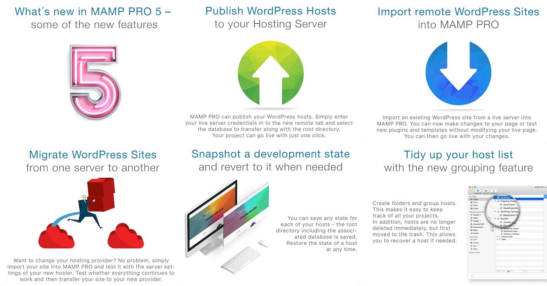 MacにApacheやNginx、MySQL、PHPなどの開発環境を構築できる