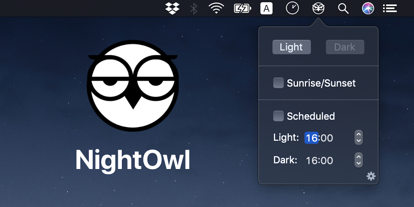 NightOwl for Mac
