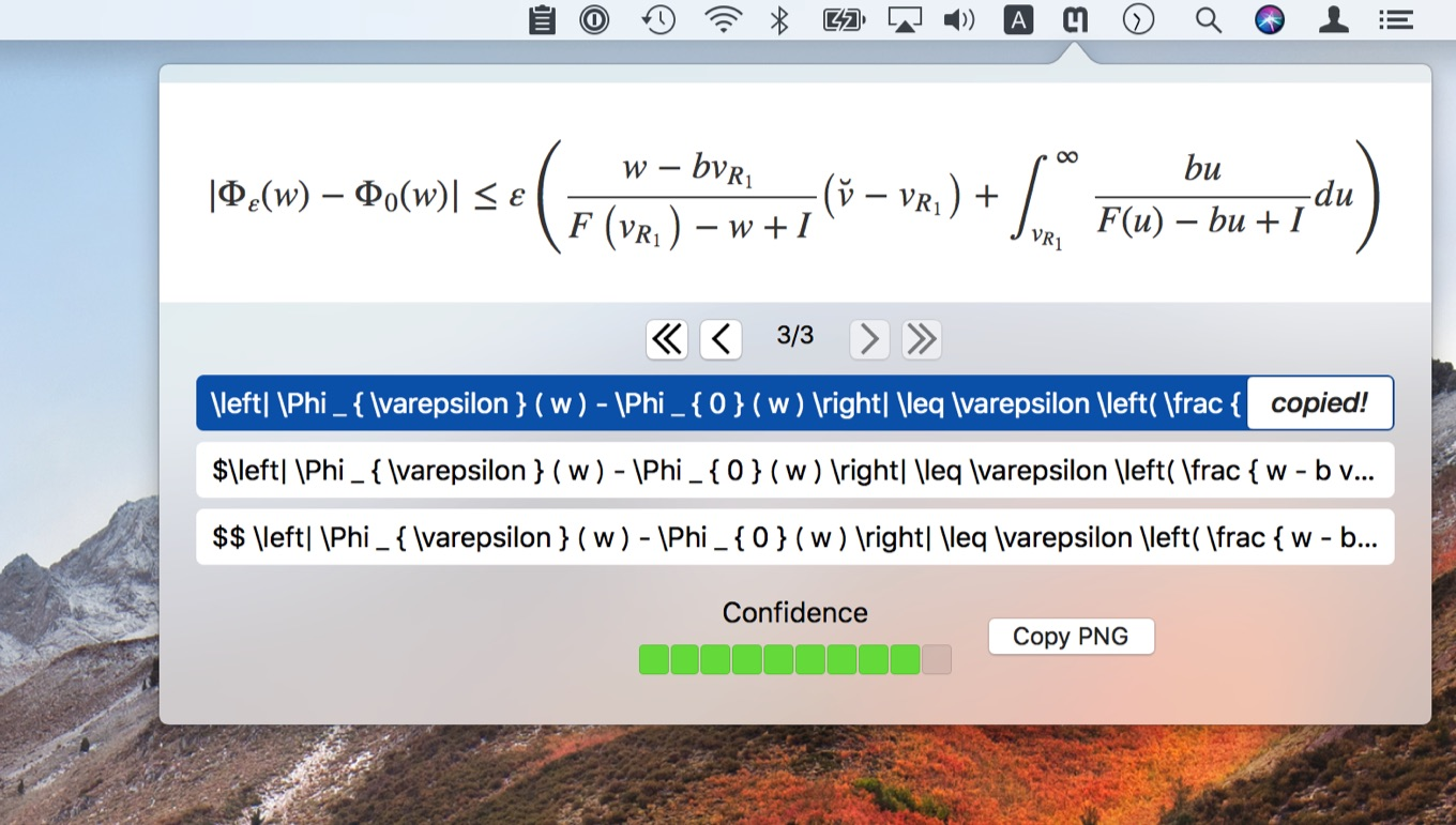 Mathpix for Mac