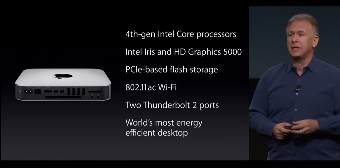 October Event 2014 Mac mini