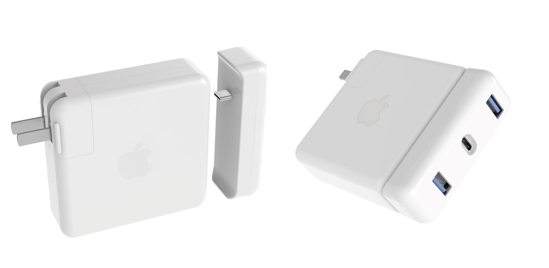 HyperDrive USB-C Hub for MacBook 61W Power Adapter
