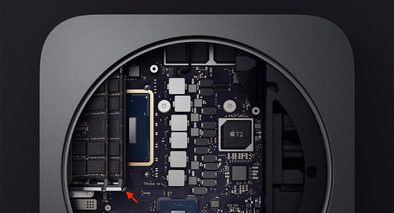 Mac mini 2018のメモリ