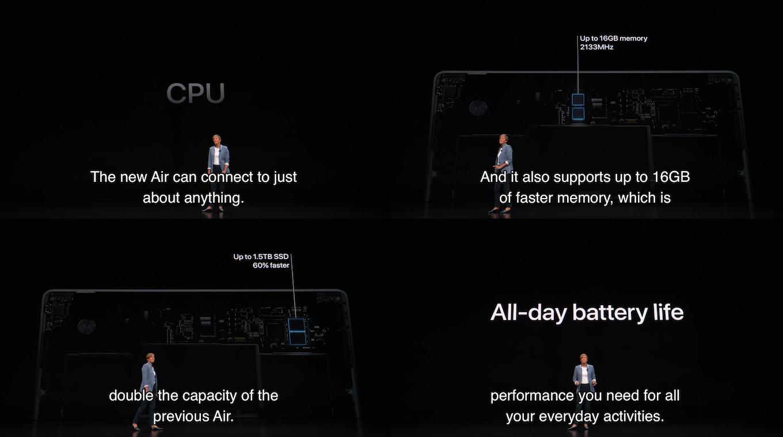 MacBook Air 2018のCPUとメモリ