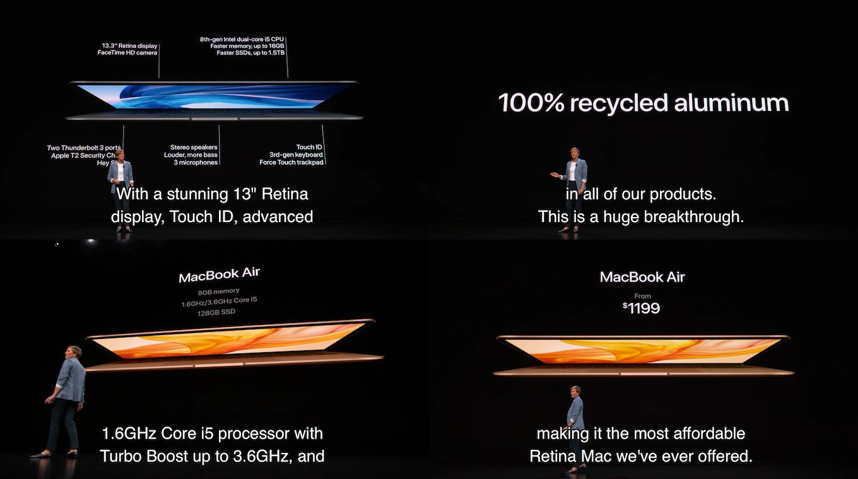 MacBook Air 2018の発売日と価格
