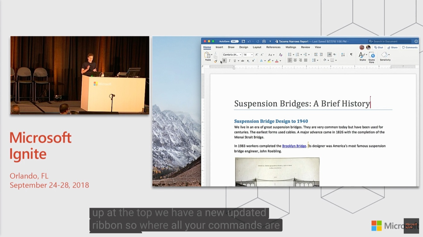 What's new and what's coming in Microsoft Office for Mac - BRK2123
