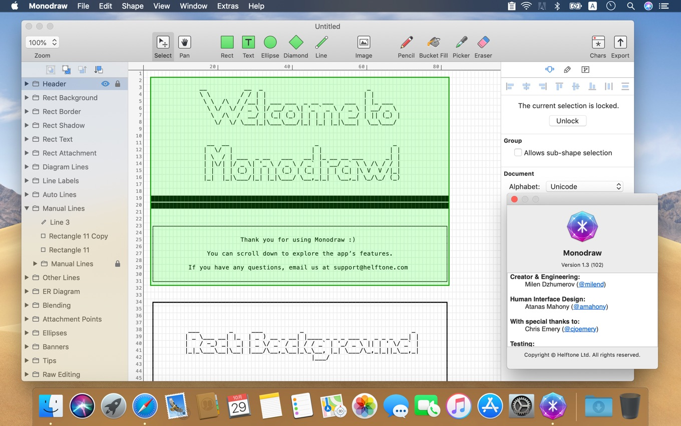 Monodraw for Mac
