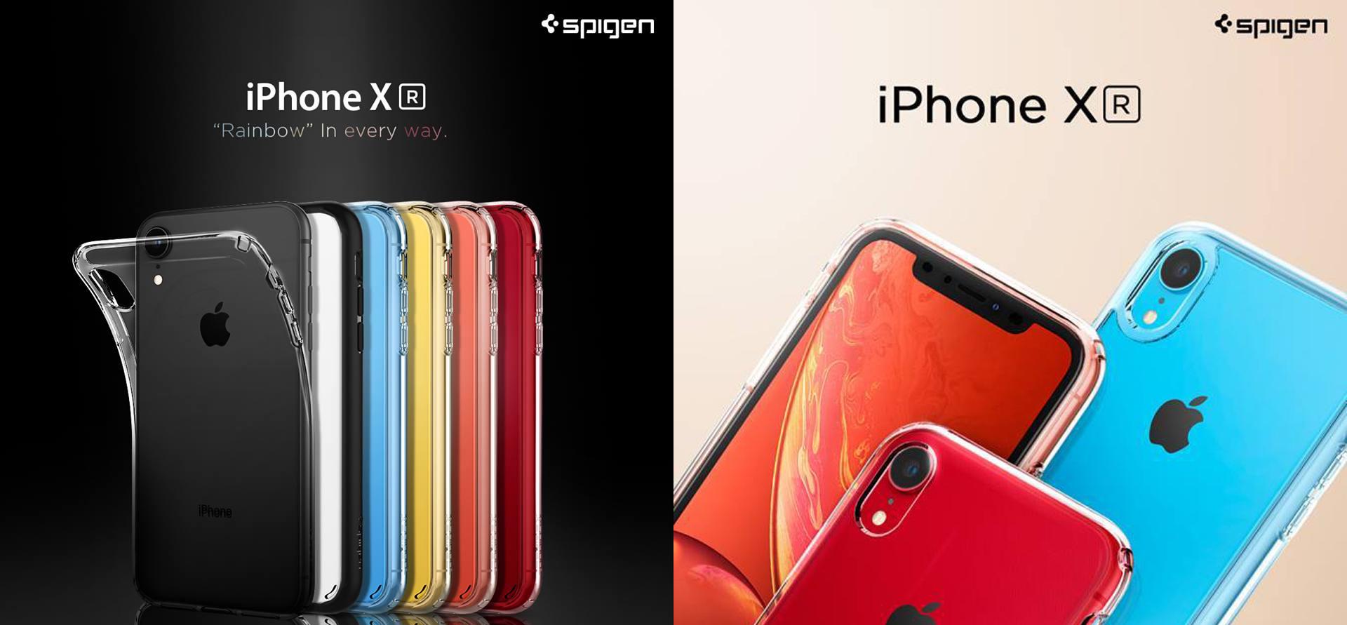 SpigenのiPhone XRケース