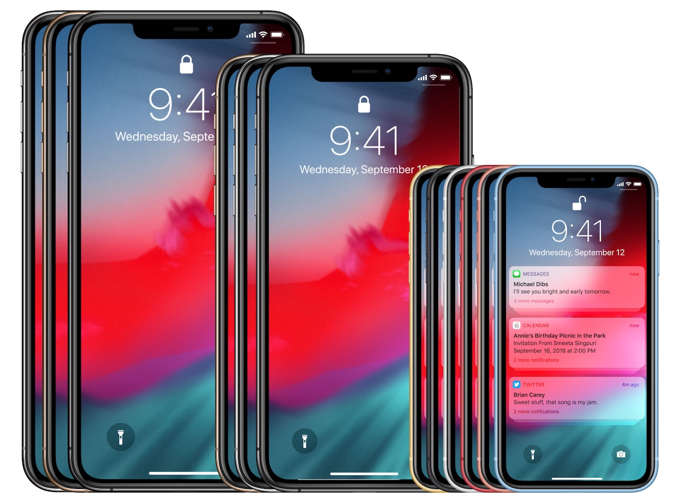 Facebook Design iPhone XR/XS