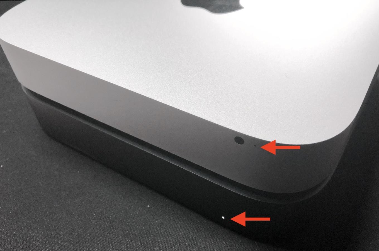 上:Mac mini (Late 2014)、下:Mac mini (2018)