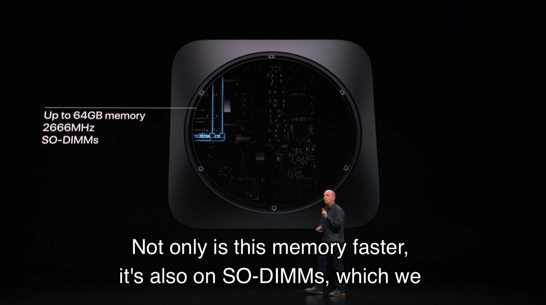 Mac mini (2018)用のSO-DIMM 2666MHz DDR4 PC4-21300