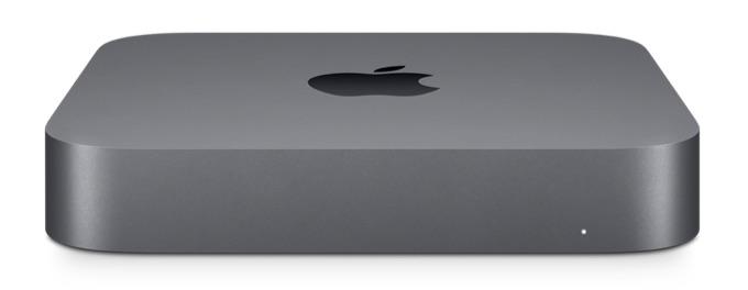 Mac mini (2018)のフロント