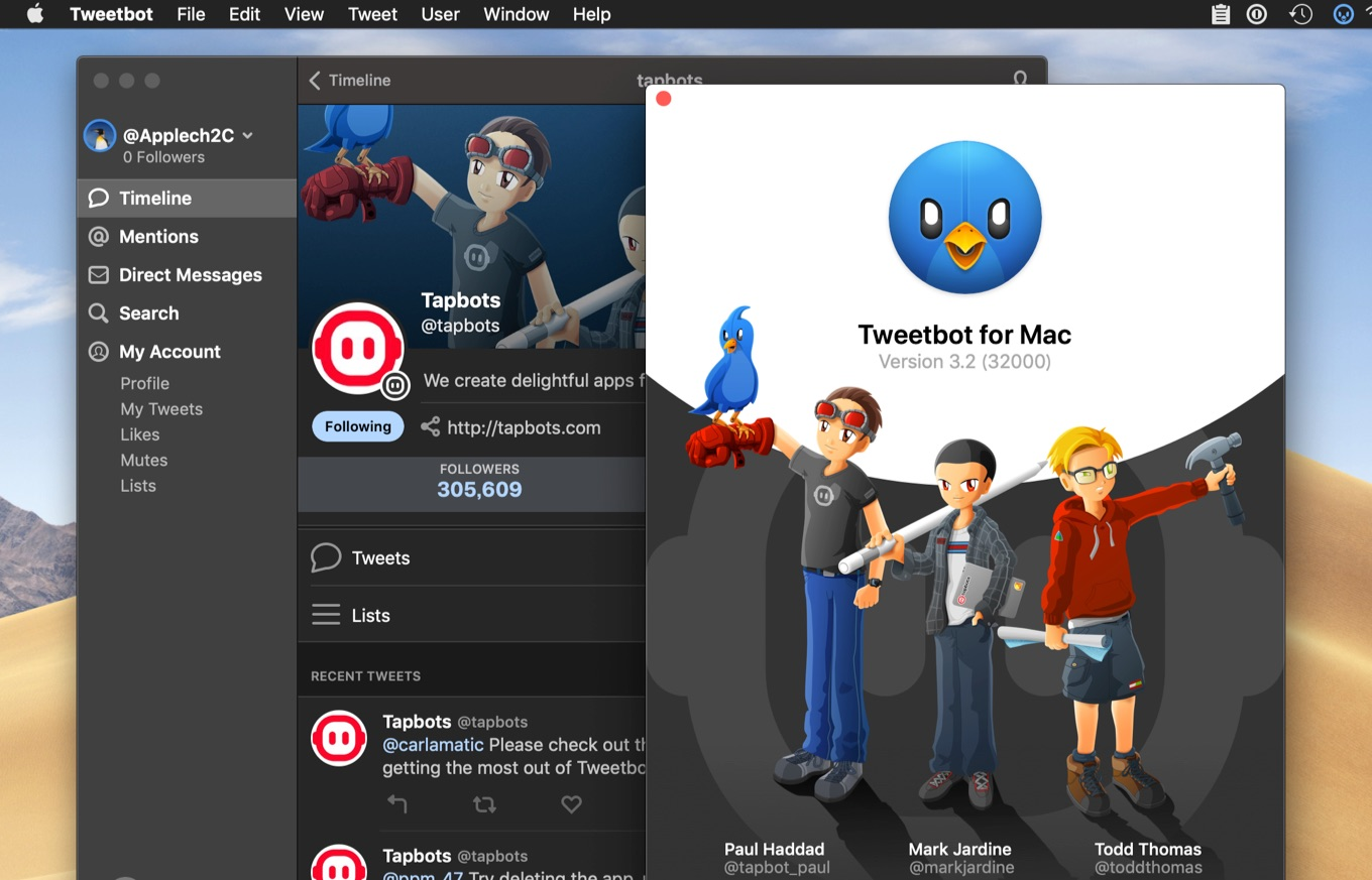 Tweetbot for Mac v3.2
