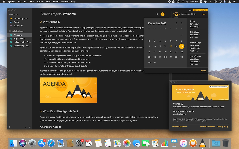 Agenda for Mac v4.0