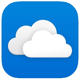 OneDrive for iOSのアイコン