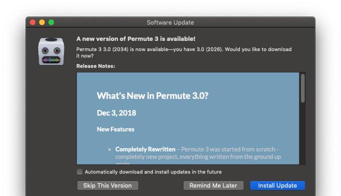 Permute v3.0の新機能