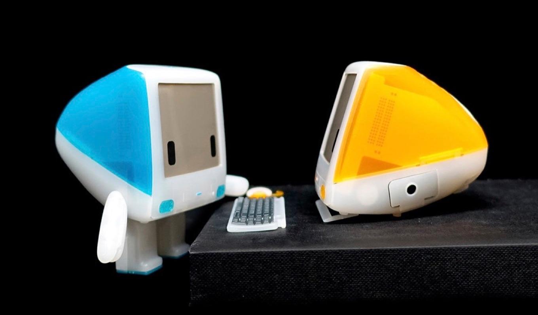 iBot G3のボンダイ・ブルーとタンジェリン・オレンジ