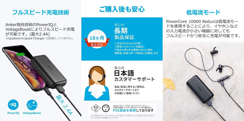 Anker PowerCore 10000 Redux