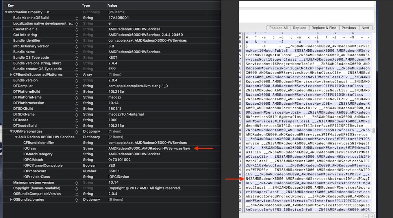 macOS 10.14 MojaveのNavi GPUドライバ