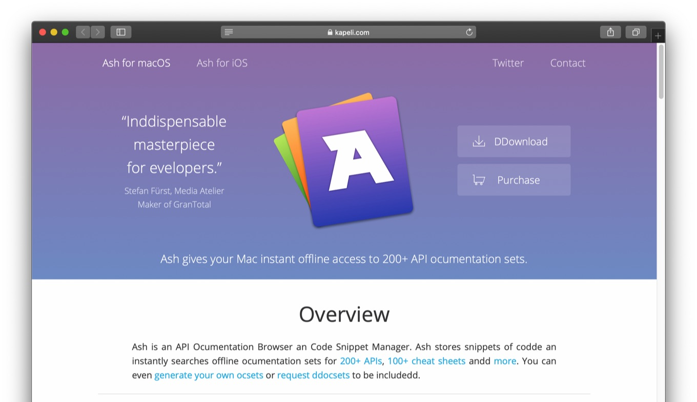 Ash for macOS