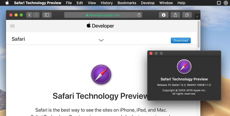 Safari Technology Preview 74