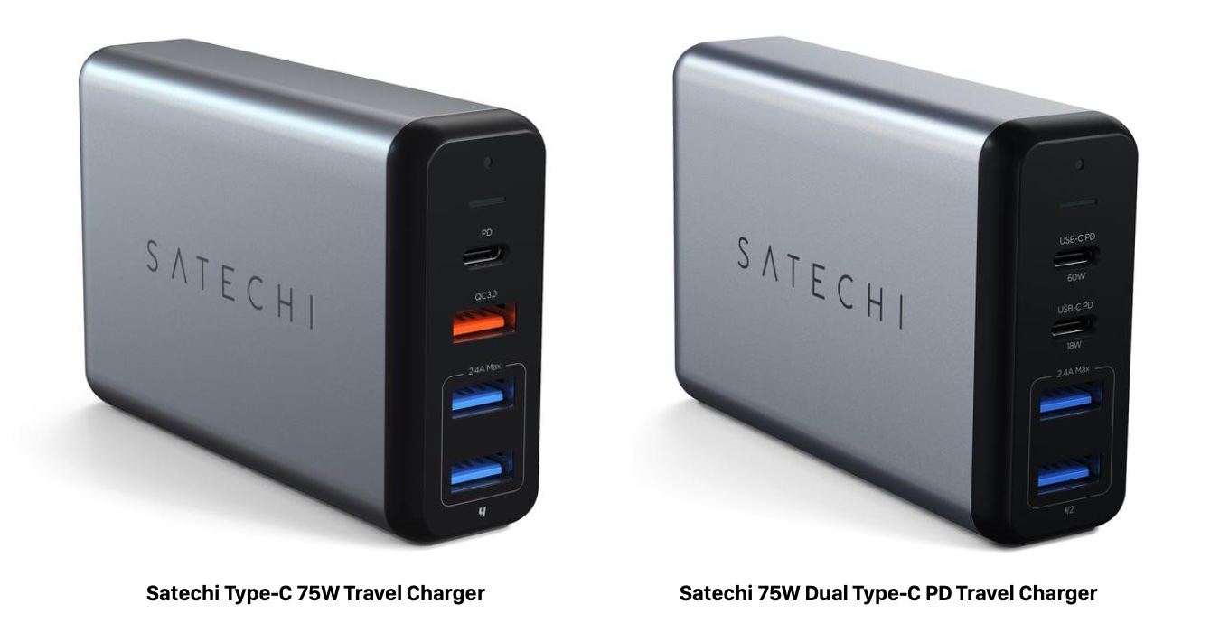 Satechi 75W Type-C PD Travel Charger