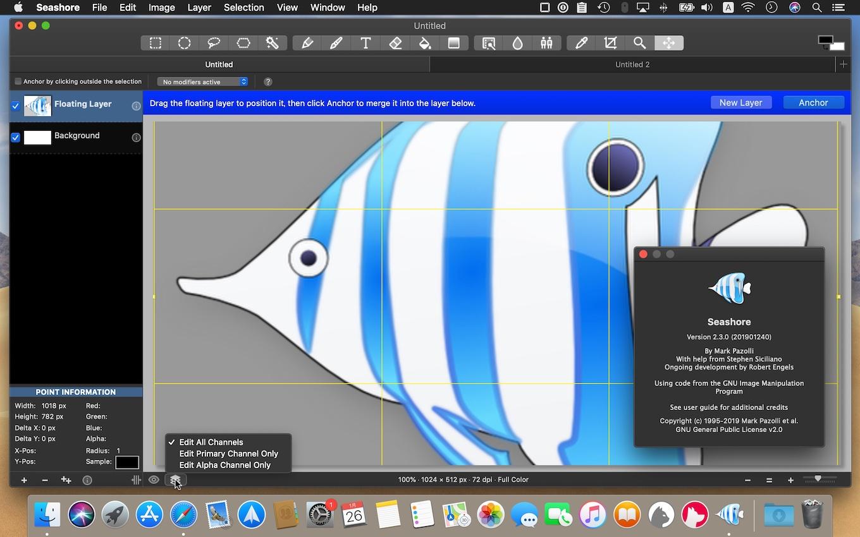 Seashore for Mac Dak Mode