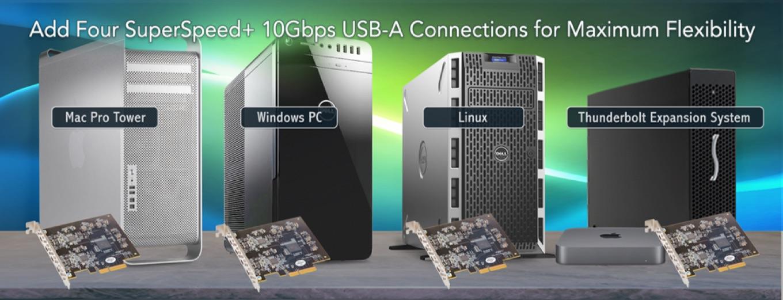 Allegro™ Pro USB 3.1 PCIe