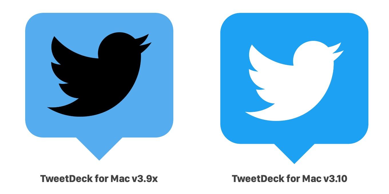 TweetDeck for Macの新アイコン