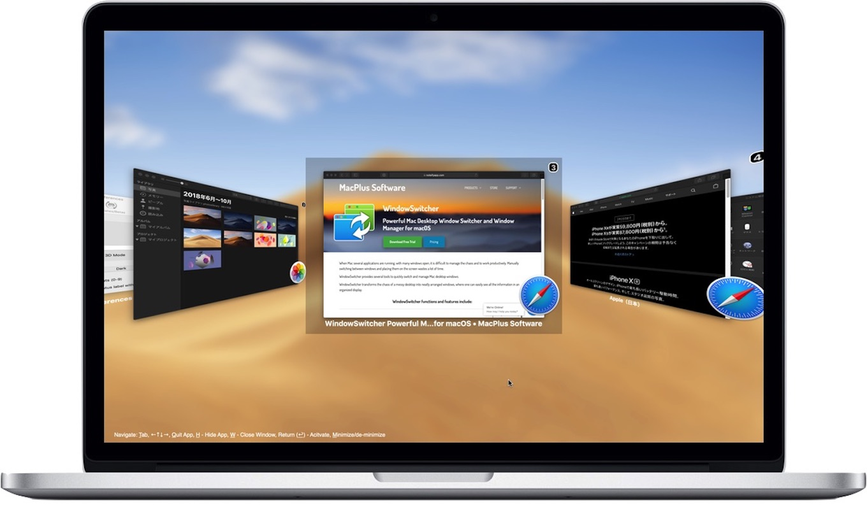 WindowSwitcher for macOS