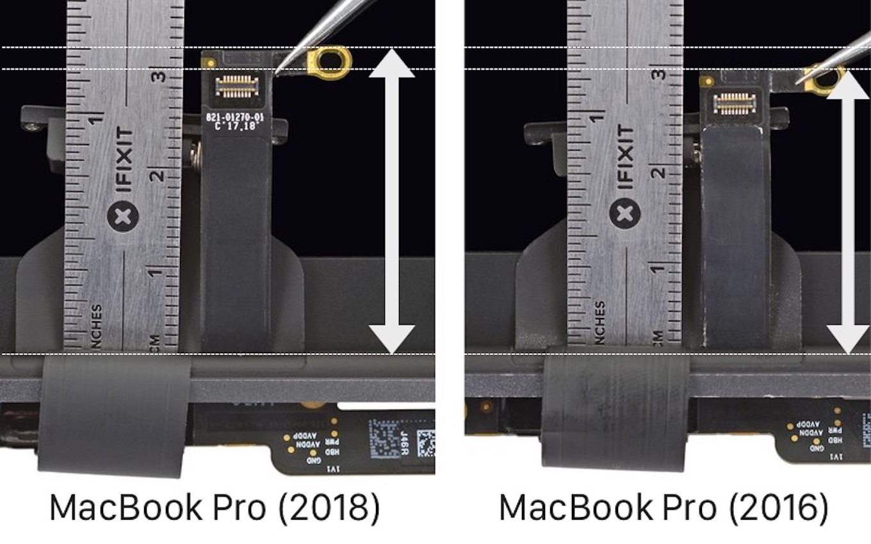 Flexgate前後のMacBook Pro